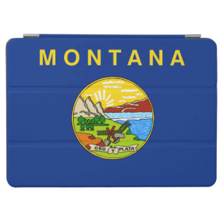 Protection iPad Air Drapeau d'état du Montana