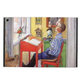 Protection iPad Air Esbjorn faisant son travail par Carl Larsson