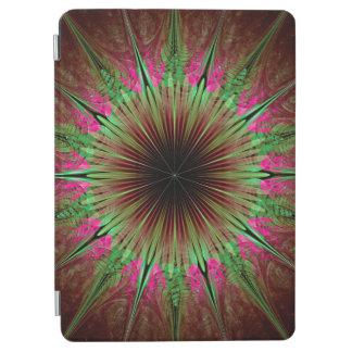 Protection iPad Air Étoile de vert d'art abstrait