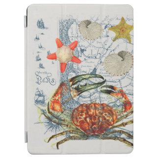 Protection iPad Air étoiles de mer désagréables de carte