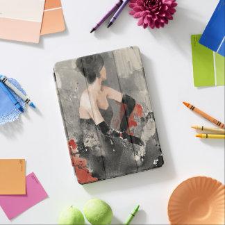 Protection iPad Air Femme vintage sauvage d'aquarelle d'Apple |