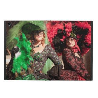 Protection iPad Air Femmes masquées pendant le carnaval de Venise