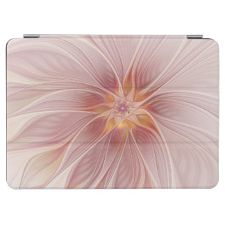 Protection iPad Air Fleur moderne d'abrégé sur floral rose mol rêve