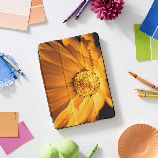 Protection iPad Air Fleur sauvage lumineux de marguerite orange