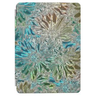 Protection iPad Air Fleurs en métal