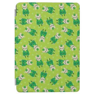 Protection iPad Air Frenchie mignon chanceux le jour de St Patrick