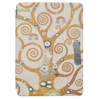 Protection iPad Air Gustav Klimt l'arbre de l'art Nouveau de la vie