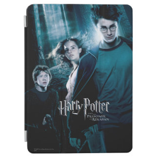 Protection iPad Air Harry Potter Ron Hermione dans la forêt