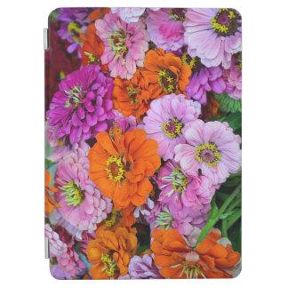 Protection iPad Air Impression florale colorée de dahlia