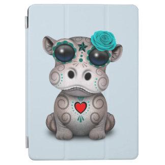 Protection iPad Air Jour bleu de l'hippopotame mort de bébé