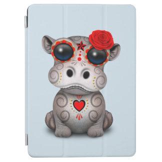 Protection iPad Air Jour rouge de l'hippopotame mort de bébé