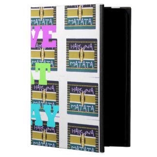 Protection iPad Air L'amour mangent des couleurs de Sovahéli d'origine