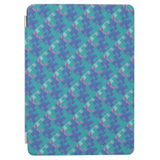 Protection iPad Air Le puzzle rapièce la couverture violette de