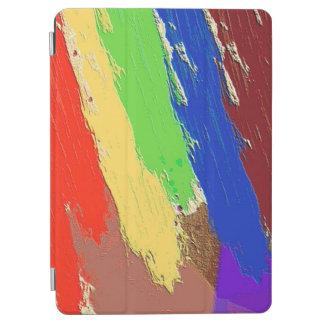 Protection iPad Air Lignes abstraites colorées de limande