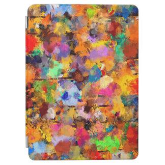 Protection iPad Air Limande d'art abstrait de couleur d'artiste