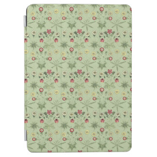 Protection iPad Air Marguerites florales d'héritage en vert en bon