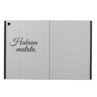 Protection iPad Air Matata de Hakuna
