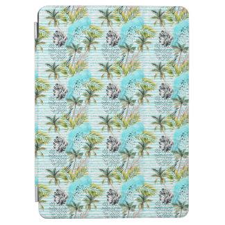 Protection iPad Air Motif abstrait de palmier d'aquarelle