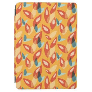 Protection iPad Air Motif bleu orange de feuille d'automne d'abrégé
