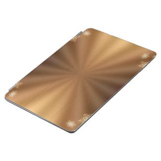 Protection iPad Air motif de couleur d'or