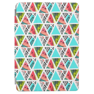 Protection iPad Air Motif tropical abstrait coloré