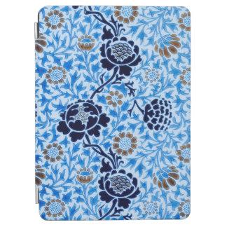 Protection iPad Air Motif victorien dans le bleu