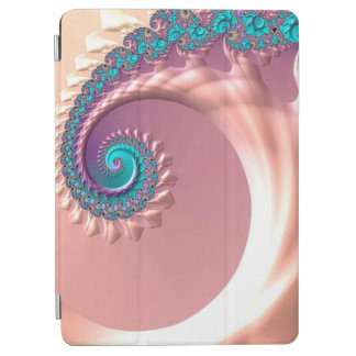 Protection iPad Air Mouvement giratoire lilas d'art d'abstraction