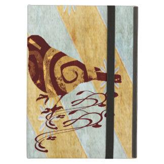 Protection iPad Air Oiseau stylisé et remous