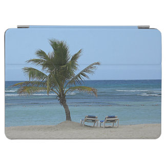 Protection iPad Air Palmier sur la plage