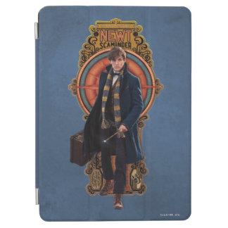 Protection iPad Air Panneau de marche de Nouveau d'art du TRITON