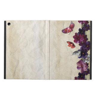 Protection iPad Air Papillons floraux