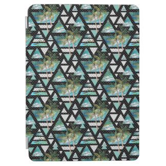 Protection iPad Air Paumes géométriques abstraites et motif de vagues