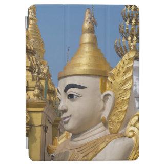Protection iPad Air Profil de statue de Bouddha