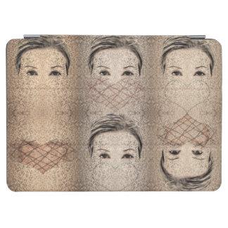 Protection iPad Air Queens de coeur