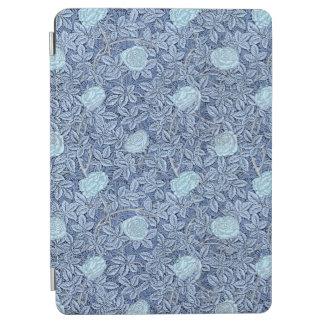 Protection iPad Air S'est levé le motif bleu blanc