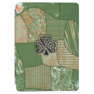 Protection iPad Air Shamrock chanceux irlandais de grundge d'amusement