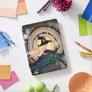 Protection iPad Air Sorcière de nouveau d'art d'imaginaire