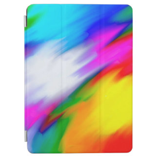 Protection iPad Air Texture lumineuse de couleur multi d'abstraction