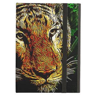 Protection iPad Air tigre sauvage animal de safari prédateur de faune