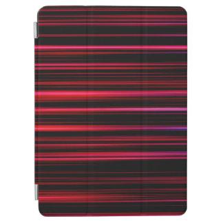 Protection iPad Air Tubes de pourpre d'art abstrait