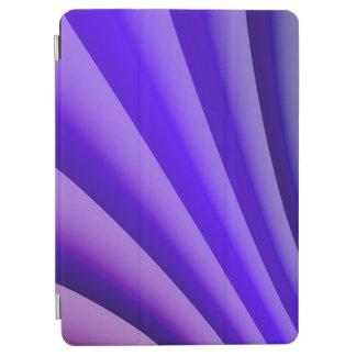 Protection iPad Air Vague pourpre d'art abstrait