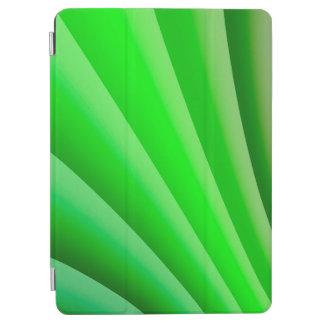 Protection iPad Air Vague verte d'art abstrait
