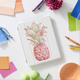 Protection iPad Ananas | rose tropical