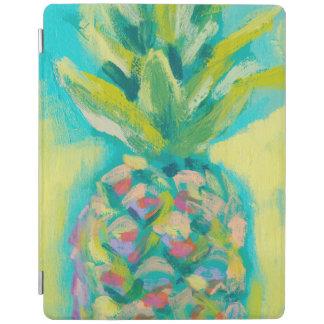 Protection iPad Ananas tropical coloré