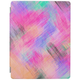 Protection iPad Arrière - plan #10 de motif d'abrégé sur aquarelle