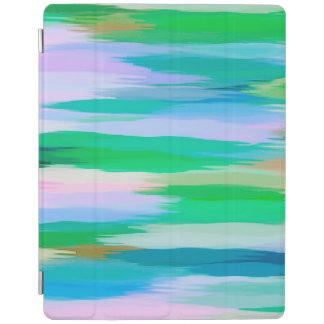 Protection iPad Arrière - plan #12 de motif d'abrégé sur aquarelle