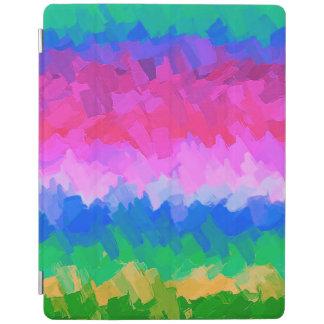 Protection iPad Arrière - plan #7 de motif d'abrégé sur aquarelle