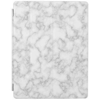 Protection iPad Arrière - plan en pierre marbré de marbre de blanc