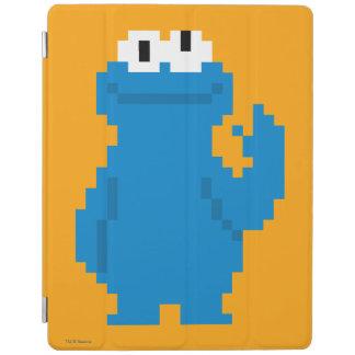 Protection iPad Art de pixel de monstre de biscuit