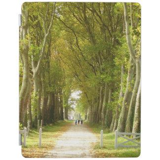 Protection iPad Avenue de couverture d'iPad d'arbres